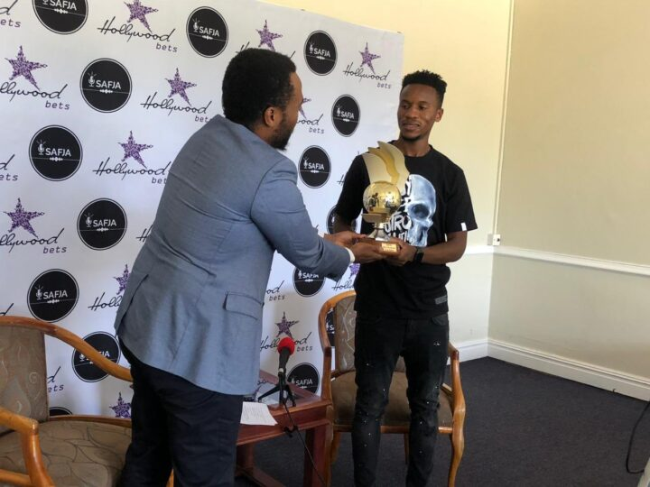 Themba Zwane Wins Inaugral SAFJA Player Of The Year!