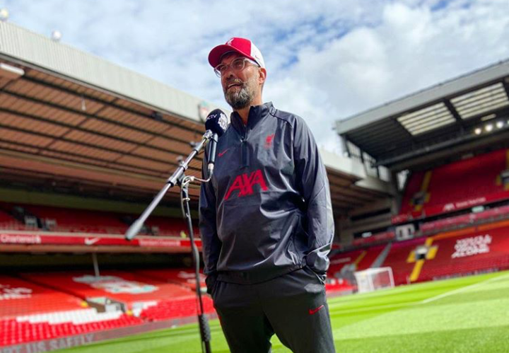 Jurgen Klopp Teams Up With Adidas