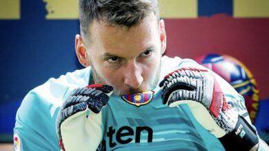 Photo of WATCH: Barcelona 'Keeper Neto Executes Incredible Crossbar Challenge!