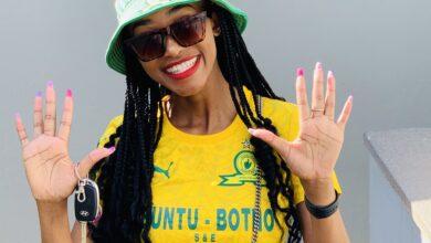 Photo of Former Miss Sundowns Faith Nonyane Has All Her Football Shirts Stolen!