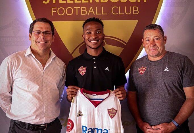 Stellenbosch F.C Sign Striker Solly Khunyedi!
