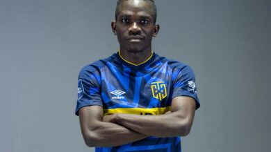 Photo of Cape Town City Sign Zambia International Charles Zulu!