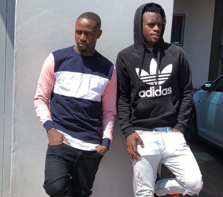 These 5 Pictures Show Mthokozisi Dube & Innocent Maela's Bromance!