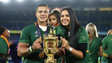 Photo of Layla & Cheslin Kolbe Celebrate The 1 Year Anniversary to World Cup Win!