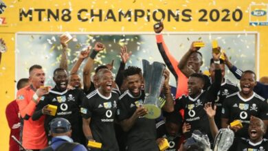 Check Out How the Orlando Pirates Players Celebrated Being 2020 MTN 8 Champions!