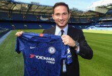 Photo of Chelsea Sack Head Coach Frank Lampard!