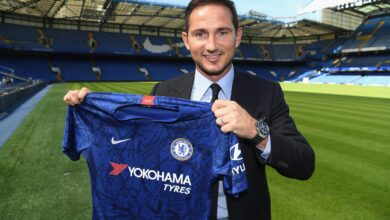 Photo of Chelsea Sack Head Coach Frank Lampard!