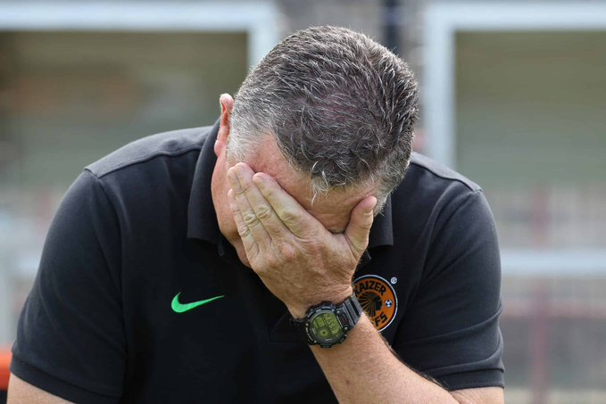Gavin Hunt Rues Missed Opportunities Once Again as He Loses Another Soweto Derby!