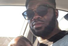 Daniel Akpeyi Absolutely Loves Dressing His Son Up In Great Drip!