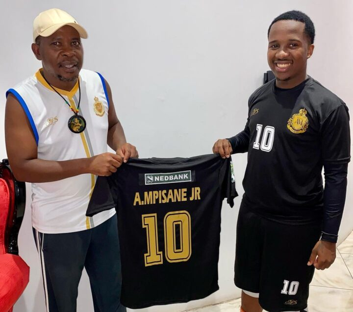 Andile Mpisane's Royal AM Receive The Latest Puma Gear!