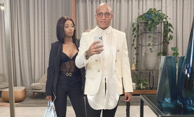 Check out How Dino Ndlovu Enjoyed His Valentine's Day!