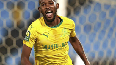 Mosa Lebusa Happy To Be Back In the Mamelodi Sundowns First XI!