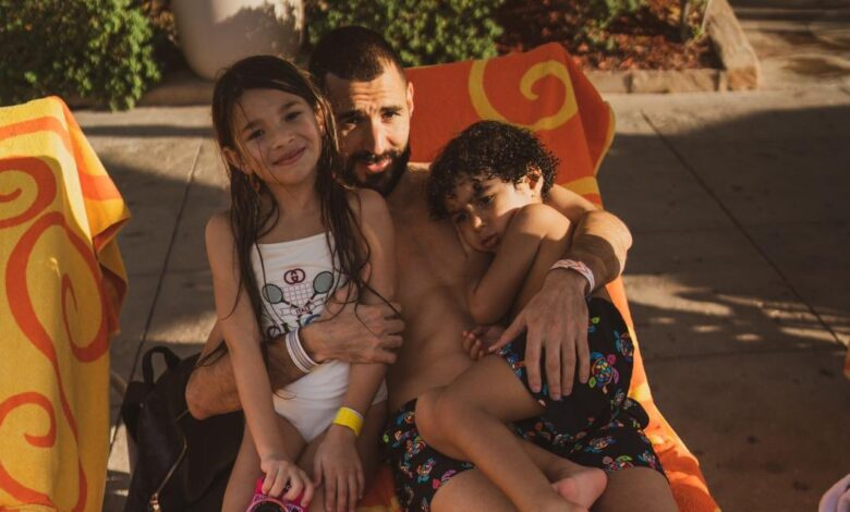 Karim Benzema Continues To Prove That He's A Family Man!