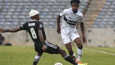 Siphesihle Ndlovu Happy With His Progress at Orlando Pirates!