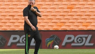 Gavin Hunt Expects Tough Game against Richards Bay FC!
