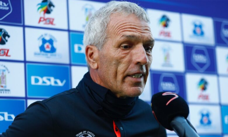 Ernst Middendorp Extremely Relieved To Grab Win!