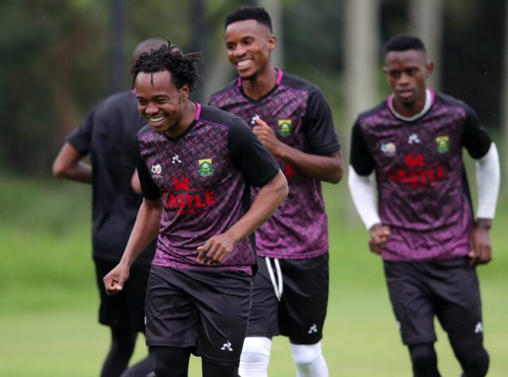 Percy Tau Confident In Bafana Bafana Ahead Of AFCON Qualifiers