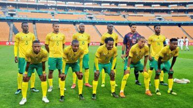 Bafana Bafana Fail To Qualify For AFCON 2022!