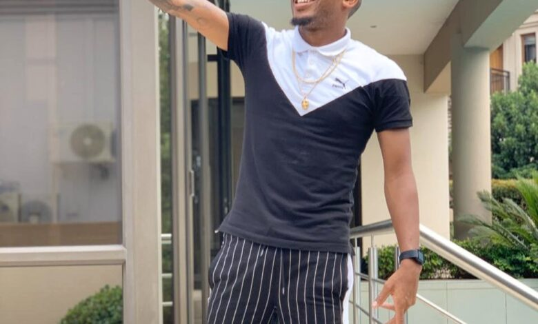 Lehlohonolo Majoro Continues To Show Off His Designer Clothing!