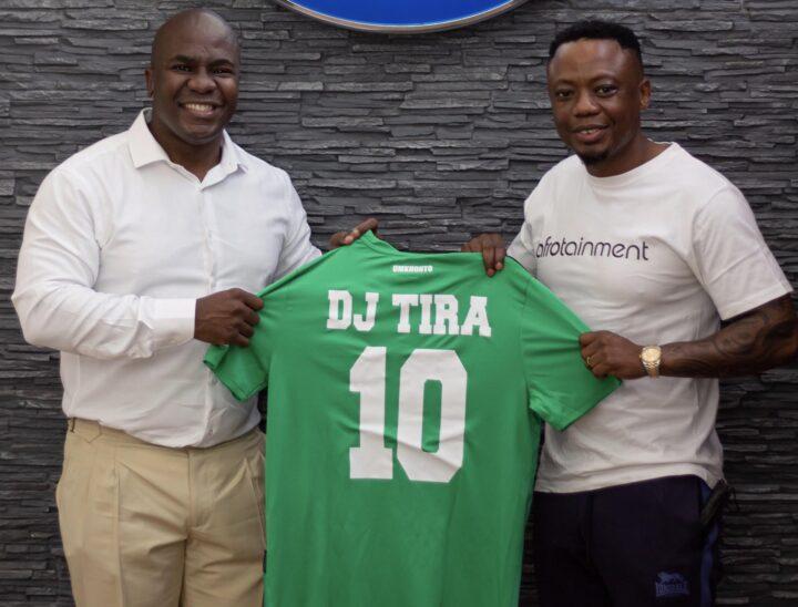 DJ Tira Is The Newest SuperStar Celebrity To Support AmaZulu!
