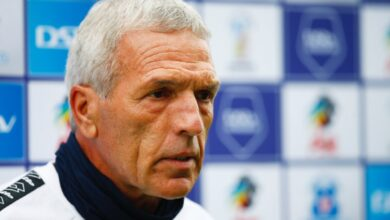 Ernst Middendorp Wants To Be Focussed For Sundowns Clash!