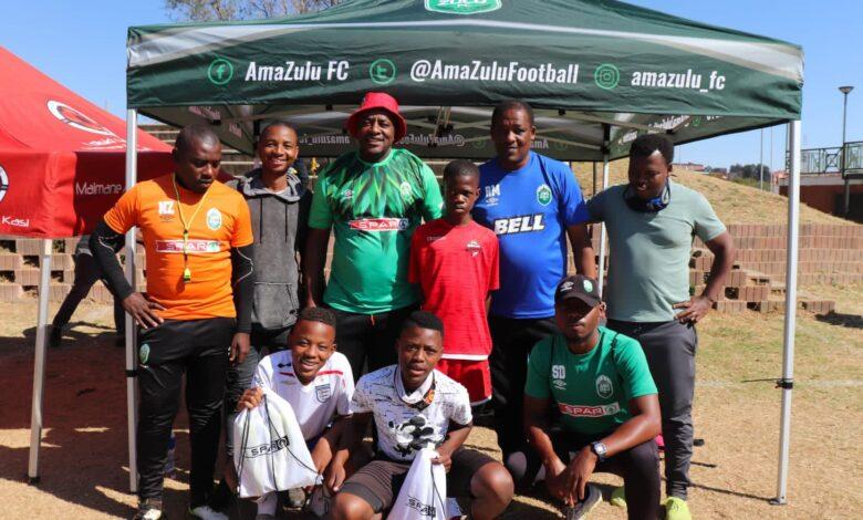 AmaZulu & BELL Equipment Host Successful Clinics in Gauteng!