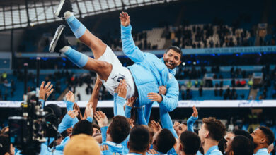 Sergio Aguero Very Happy To End Manchester City Career in Style!