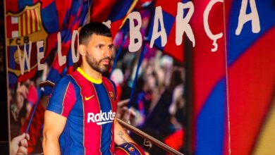 Sergio Aguero Joins Barcelona On A Free Transfer!