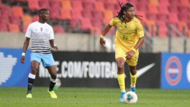 Siyethemba Sithebe Very Happy To Be Bafana Bafana Vice-Captain!