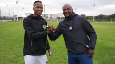 Lehlohonolo Seema Does Not Want To Change Much As New Golden Arrows Coach!
