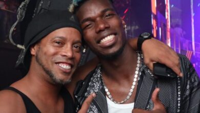 Paul Pogba and Ronaldinho Party Together In Miami Night Club!