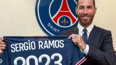 PSG Sign Free Agent Sergio Ramos On A Two-Year Deal!