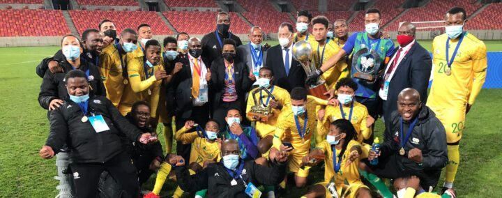 Bafana Bafana Claim R500 000 Prize Money After Winning the 2021 COSAFA Cup!
