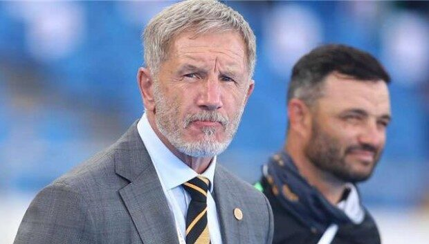 Stuart Baxter Believes Happy Mashiane's Red Card Made It Difficult for Them!