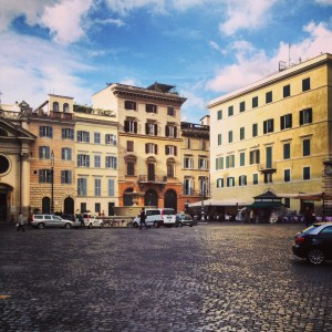 The Nine Month Mark in Rome