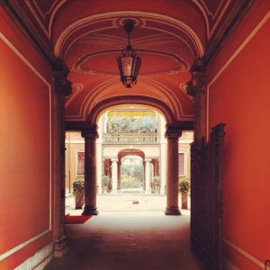 Courtyards of Milan 4 - Romesick and Loving It