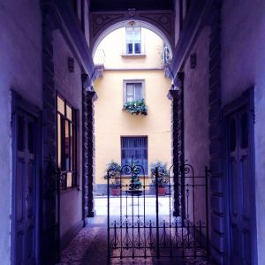 Courtyards of Milan 9 - Romesick and Loving It