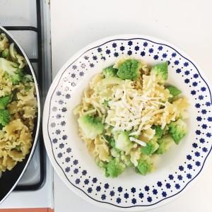 Mafalda Corta Pasta Recipe with Broccoli Romanesco and Pecorino