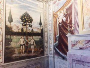 San Maurizio al Monastero Maggiore Milan Adam and Eve
