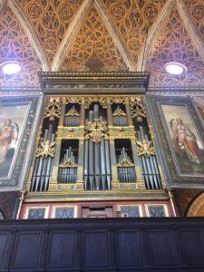 San Maurizio al Monastero Maggiore Milan organ