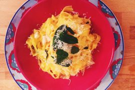 Lemon pasta recipe best restaurants milan duomo spazio