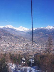 Italian Ski Resort Pila Skiing in Italy Pila icicles