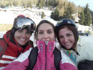 Italian Ski Resort Pila Skiing in Italy Pila Ski School selfie