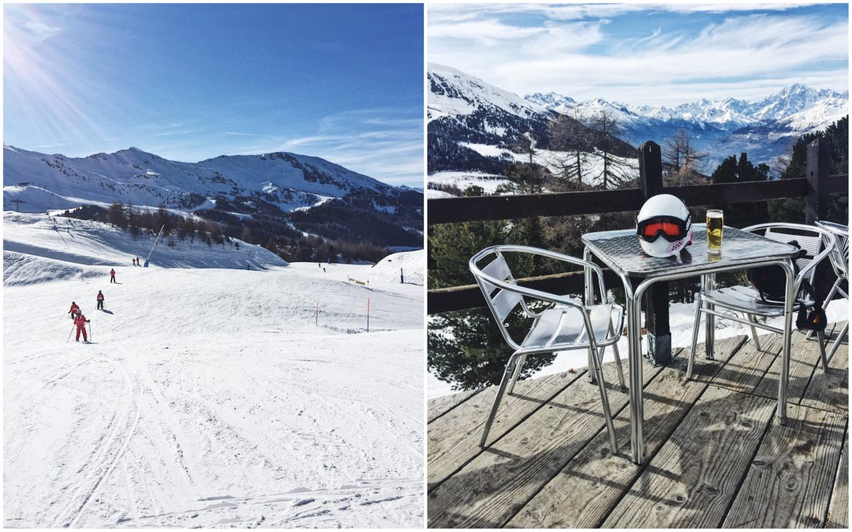 Italian Ski Resort Pila Skiing in Italy