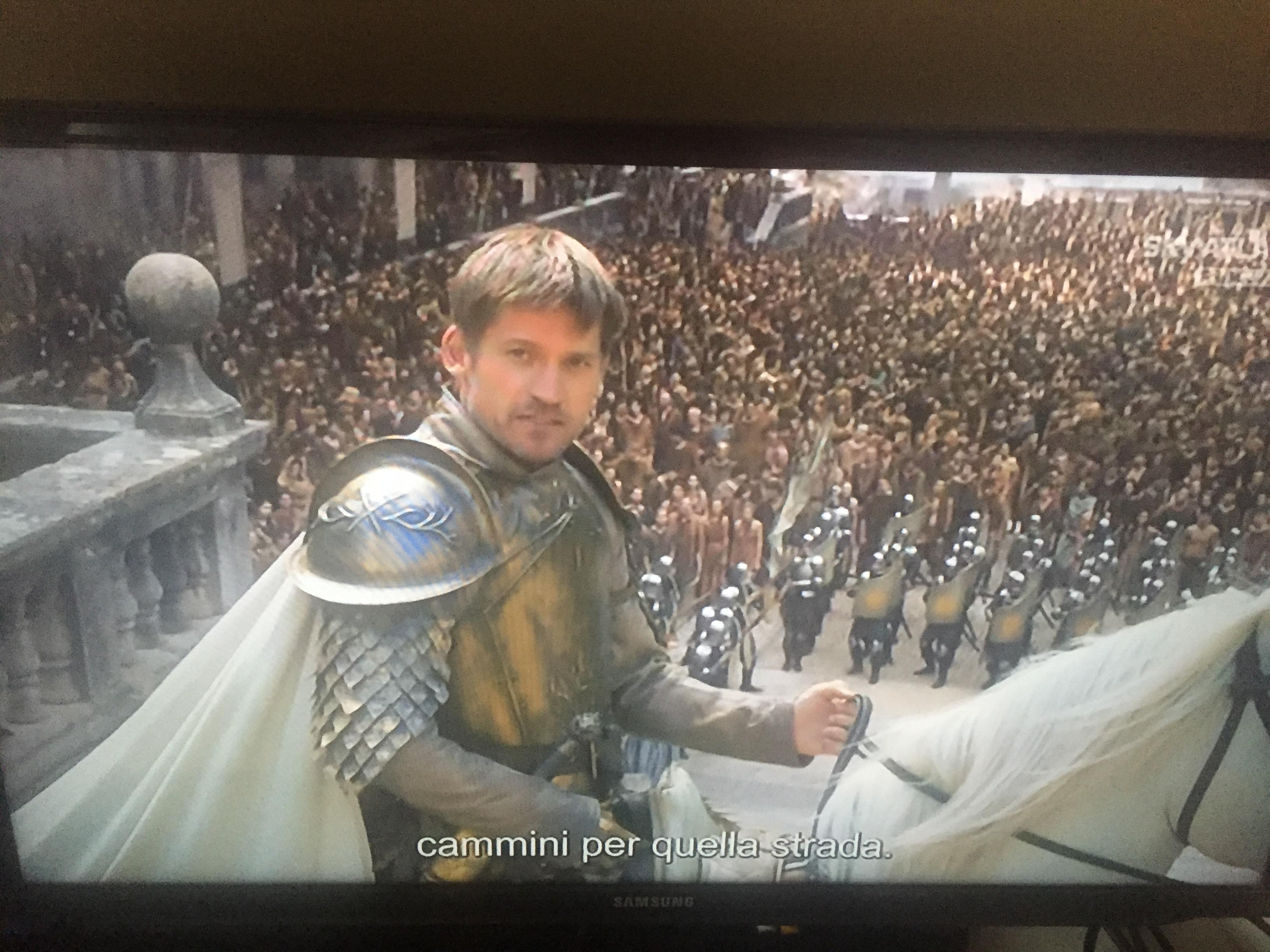 Jamie Lannister Game of Thrones season 7