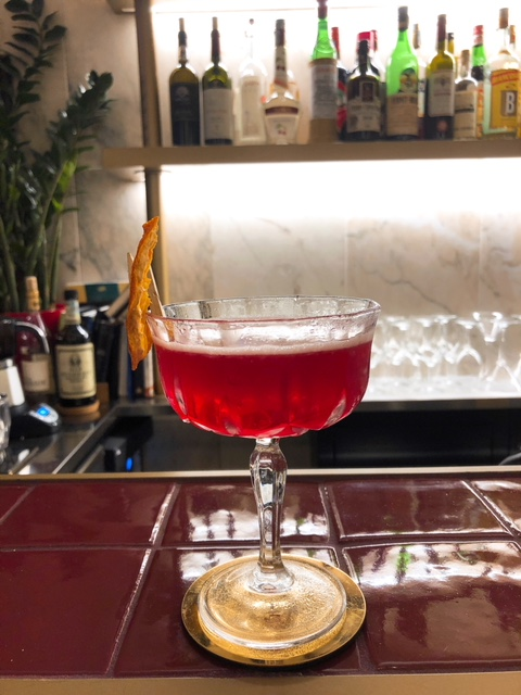 Filz Spiedini e Cocktails Campari Shakerato