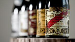 Acetaia Giusti balsamic vinegar Modena historic collection
