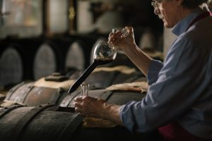 Acetaia Giusti balsamic vinegar Modena extraction