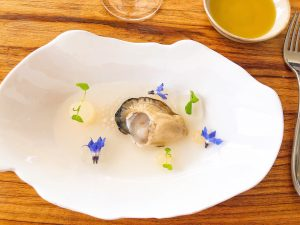 Mirazur restaurant Gillardeau Oyster