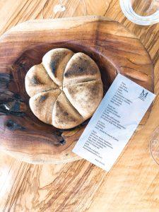 Mirazur restaurant Mauro Colagreco bread